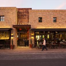 Exterior of Il Corso in Palm Desert, Calif.