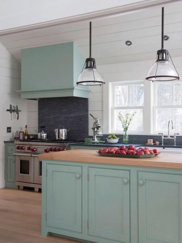 Mint Green Eat In Cottage Kitchen 2015 Fresh Faces Of