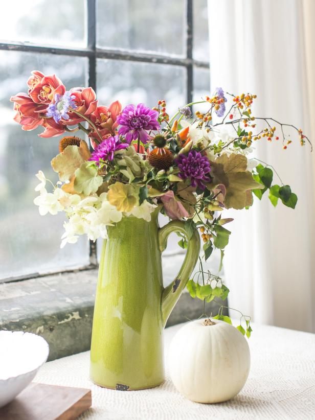 46 Easy Fall Flower Arrangement Ideas Hgtv