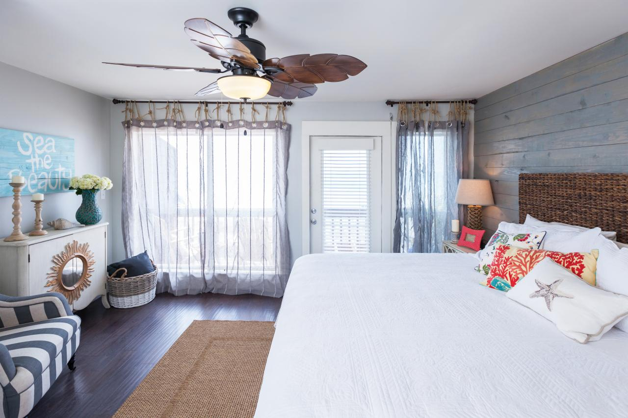 rustic beach inspired bedroom ideas | A Rustic Coastal Space | HGTV