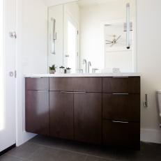 Brown Modern Bathroom Photos Hgtv