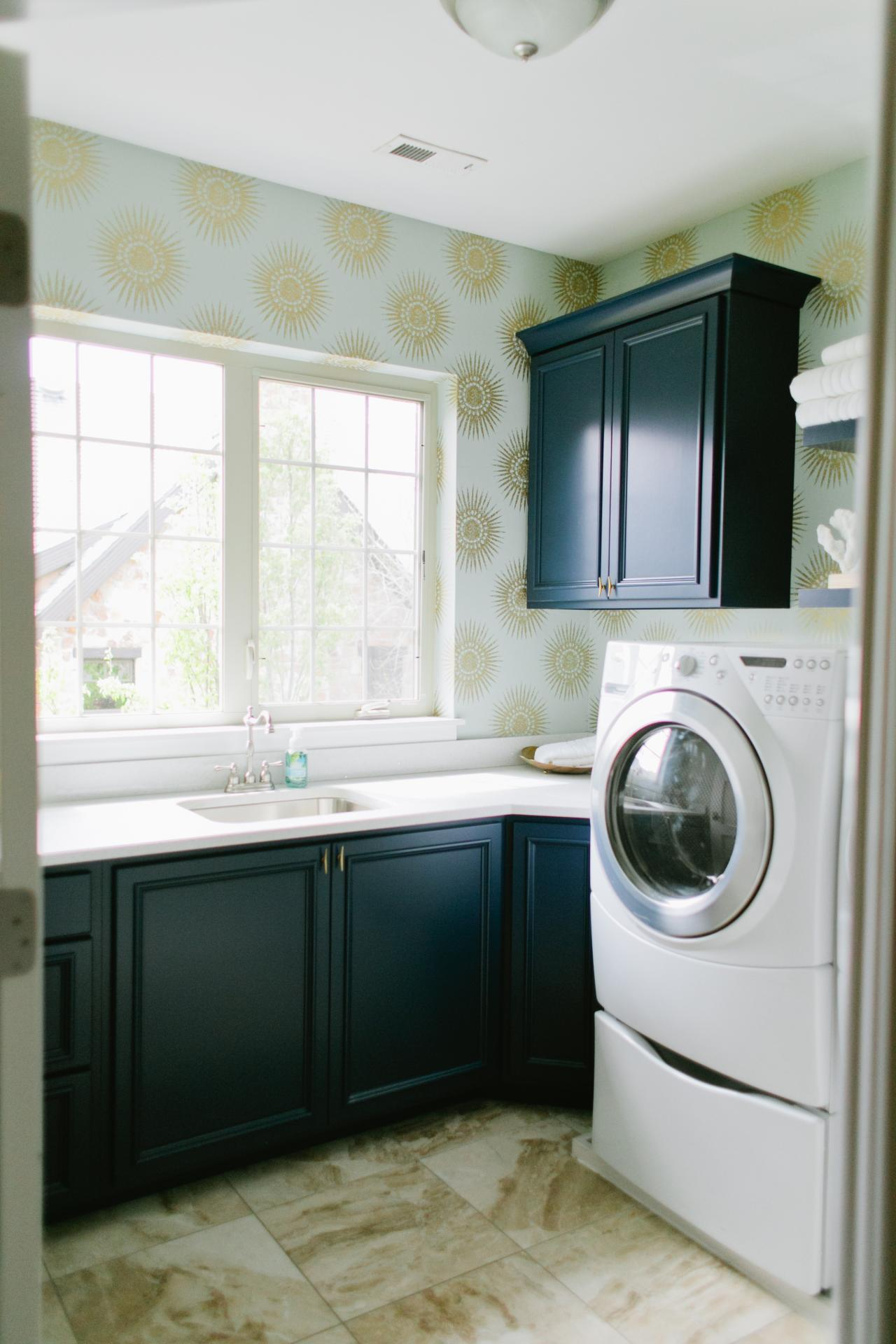 10 Clever Storage Ideas for Your Tiny Laundry Room | HGTV ... on Laundry Room Organization Ideas  id=39862