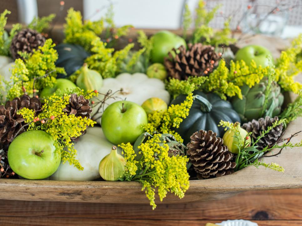 Easy Centerpieces For Thanksgiving Or Fall Parties Hgtv