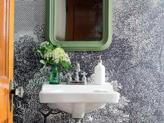 Installing Wallpaper in a Bathroom