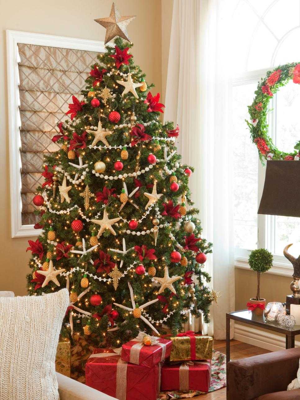 Colorful Christmas Tree Decorations.30 Country Christmas Tree Decorating Ideas Gac