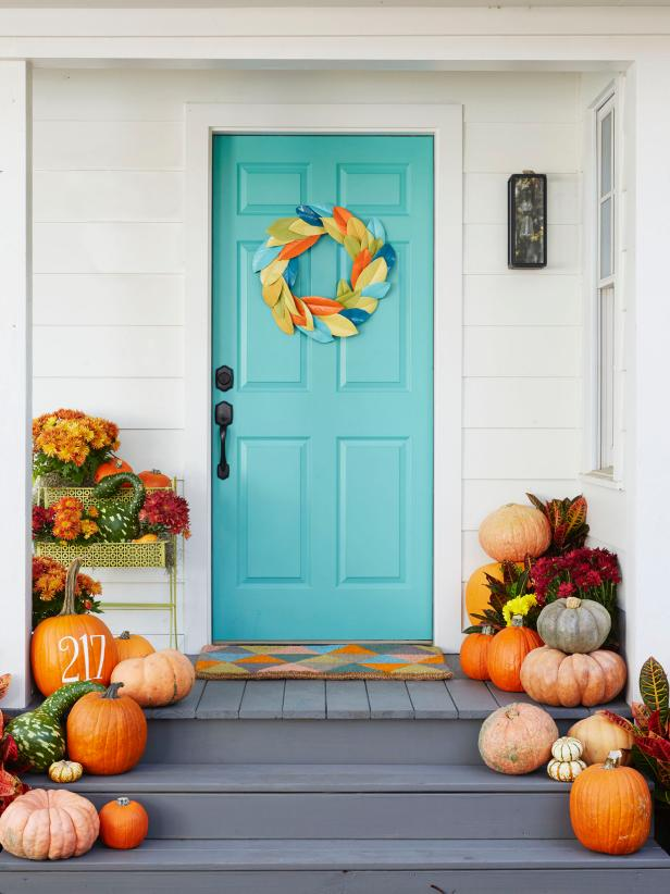 fall home decorating tips 5 tips for fall porch decorating hgtv s decorating 10853