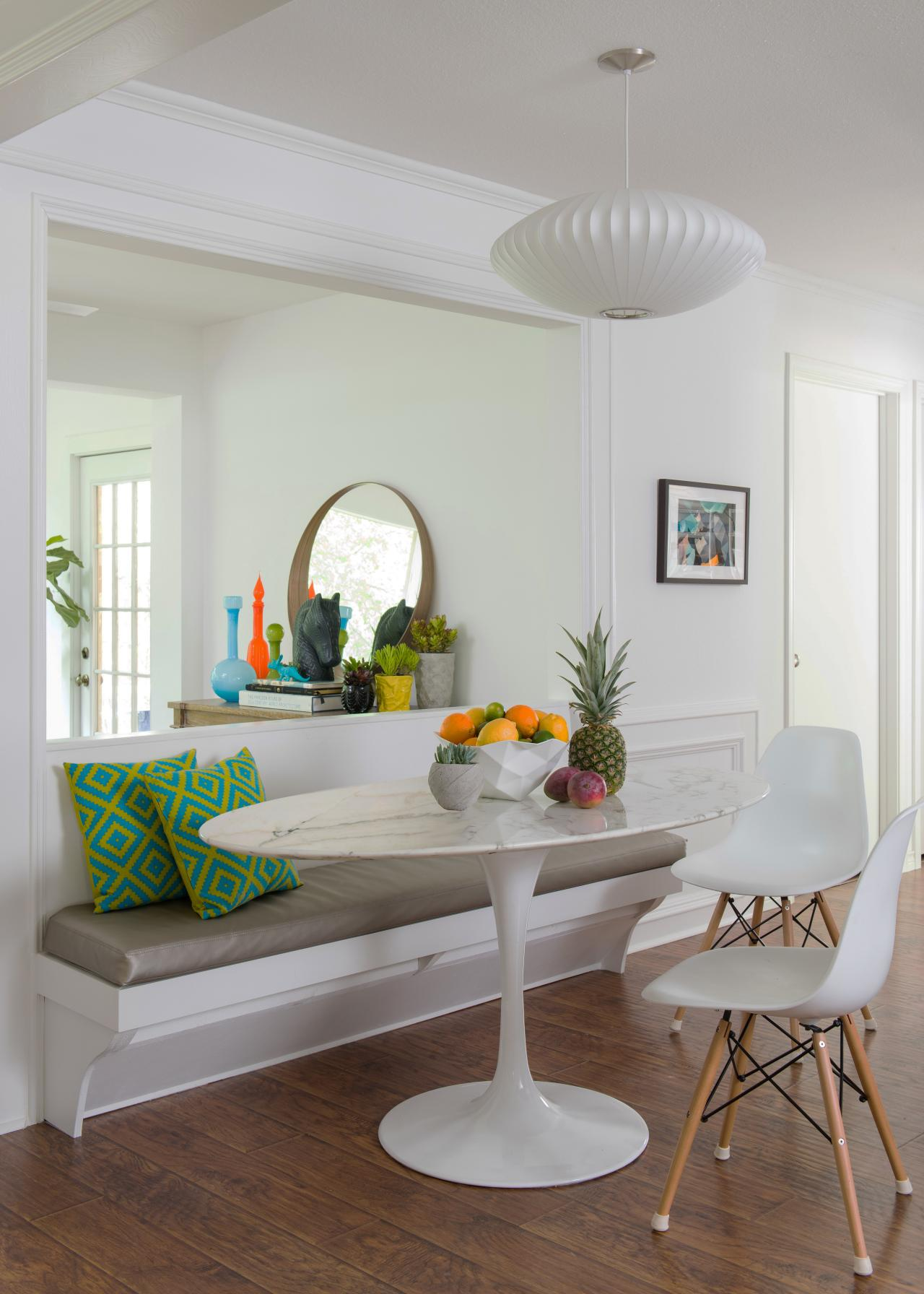 12 Ways To Make A Banquette Work In Your Kitchen Hgtv S Decorating Design Blog Hgtv