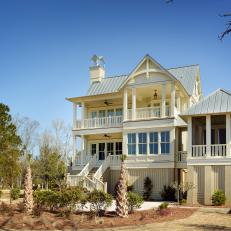 Coastal Cottage in Charleston, S.C.