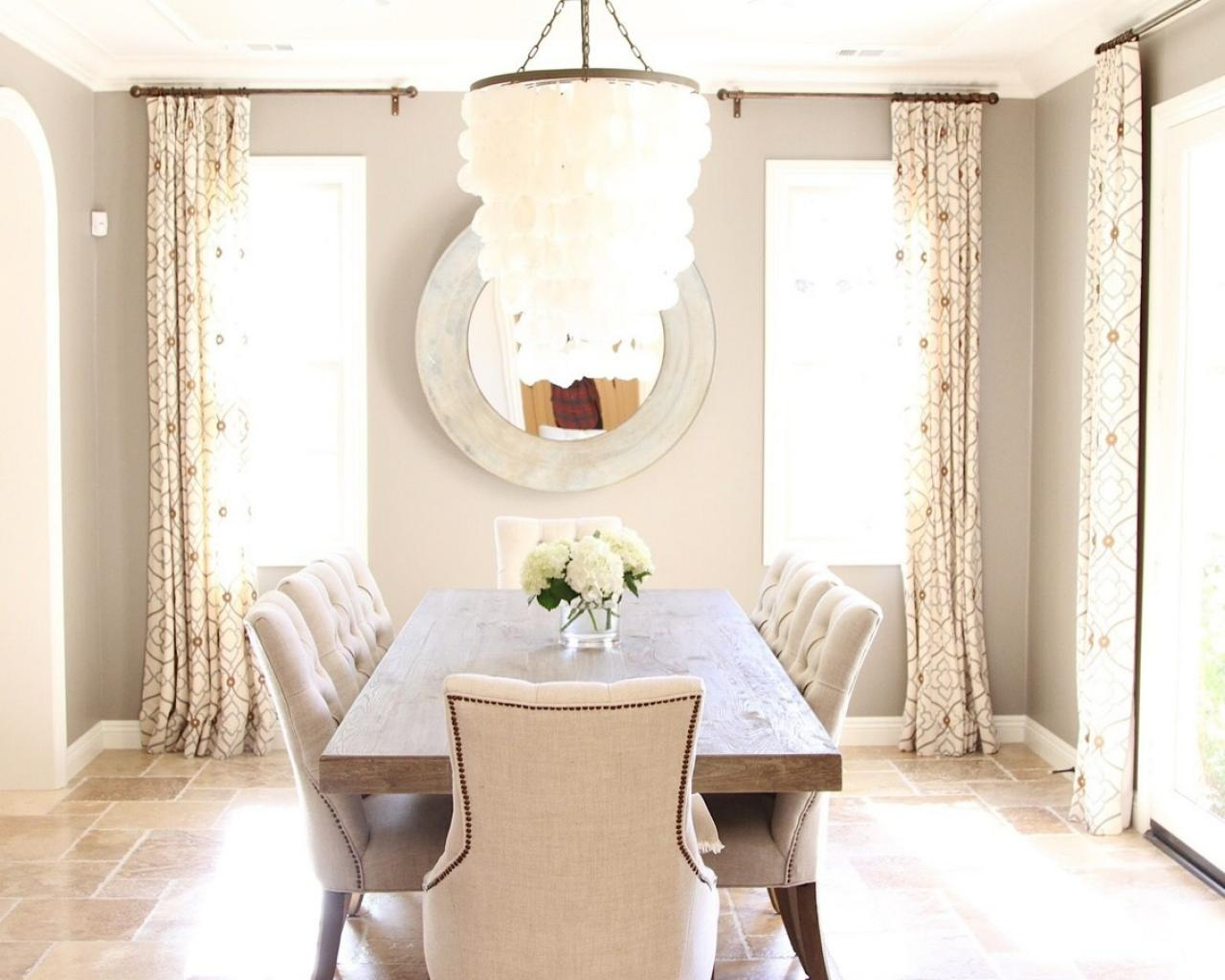 Formal Dining Room Is Coastal Welcoming