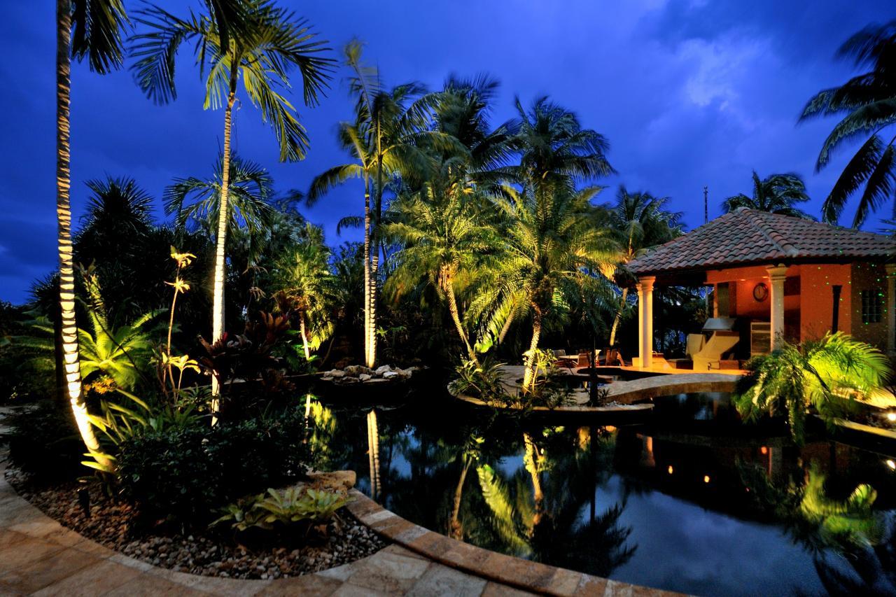 Tropical Backyard Pool Hgtv