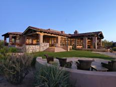 Rustic, Southwestern Country Club in Scottsdale