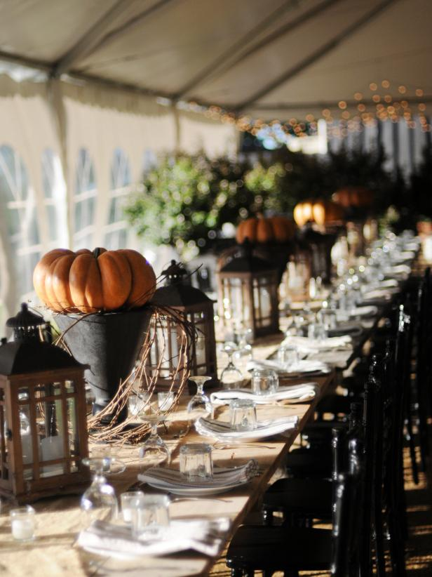 Sophisticated Halloween Dinner Party.How To Throw A Halloween Party Hgtv