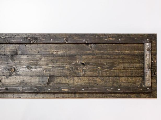 DIY Rustic-Industrial Shoe Storage Bench: Assemble Top