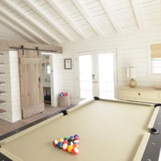 Cottage Game Room