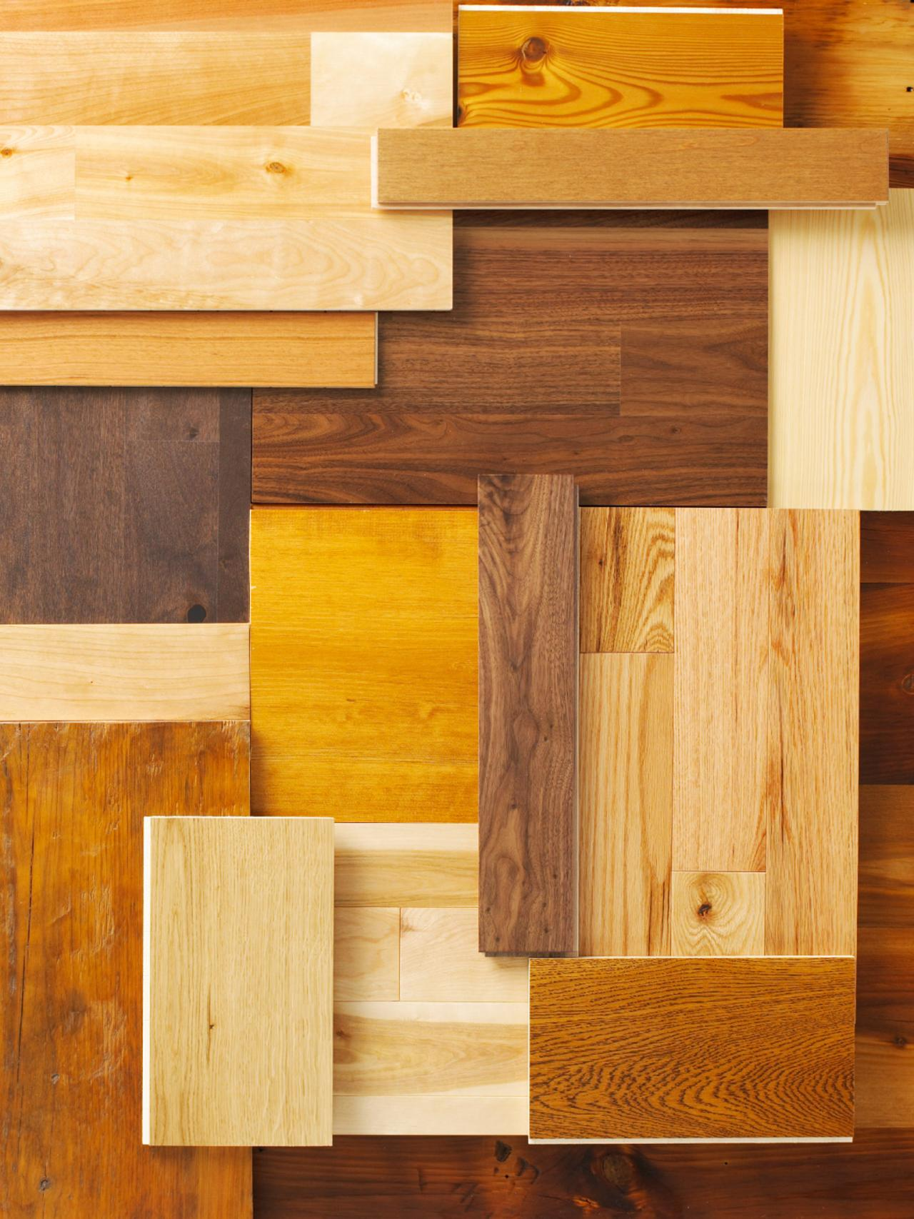 Your guide to the different types of wood flooring diy Different design and colors of tiles