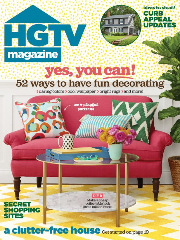 HGTV Magazine March 2016 Cover
