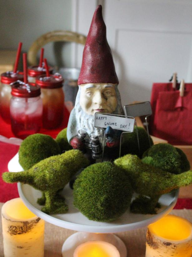 Gnome Party Centerpiece