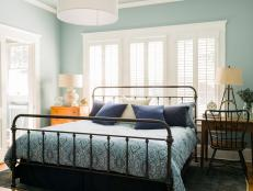 A Master Bedroom With A Modern Nautical Touch 13 Photos