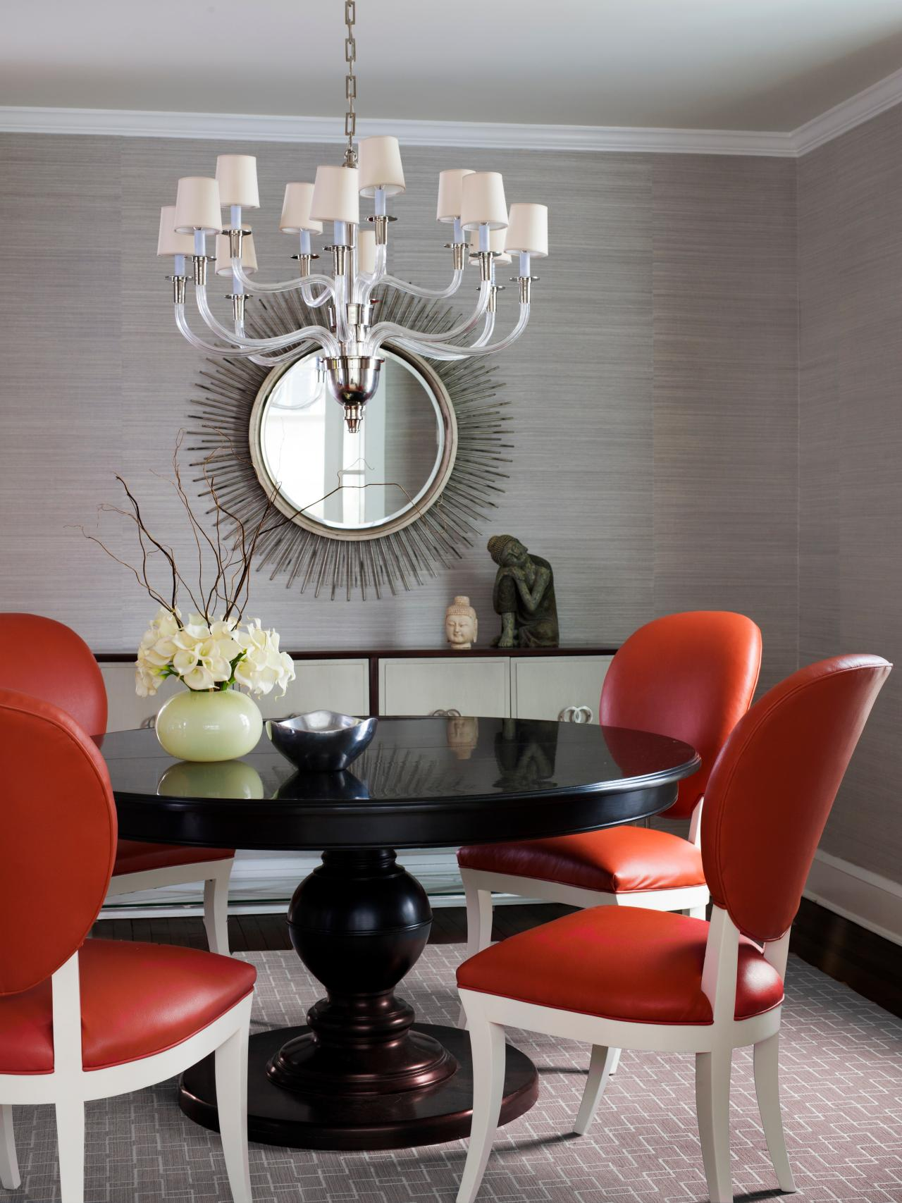 modern dining room wall decor. Funky Dining Room Design 15 Ways to Dress Up Your Walls  HGTV s Decorating