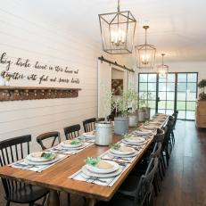 Barn Home In The Country Custom Farm Dining Table