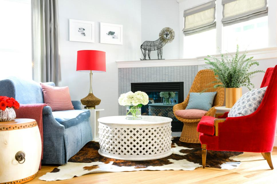 how to decorate with mismatched furniture hgtv