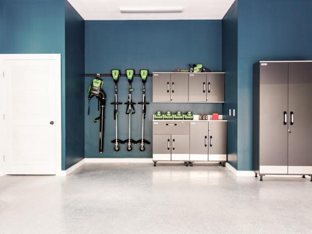 Garage Organization Ideas, Tips & Tools | HGTV on Garage Colors  id=20369