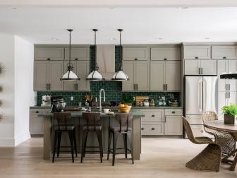 Color Ideas For Painting Kitchen Cabinets HGTV Pictures HGTV - Popular paint colors for kitchen cabinets