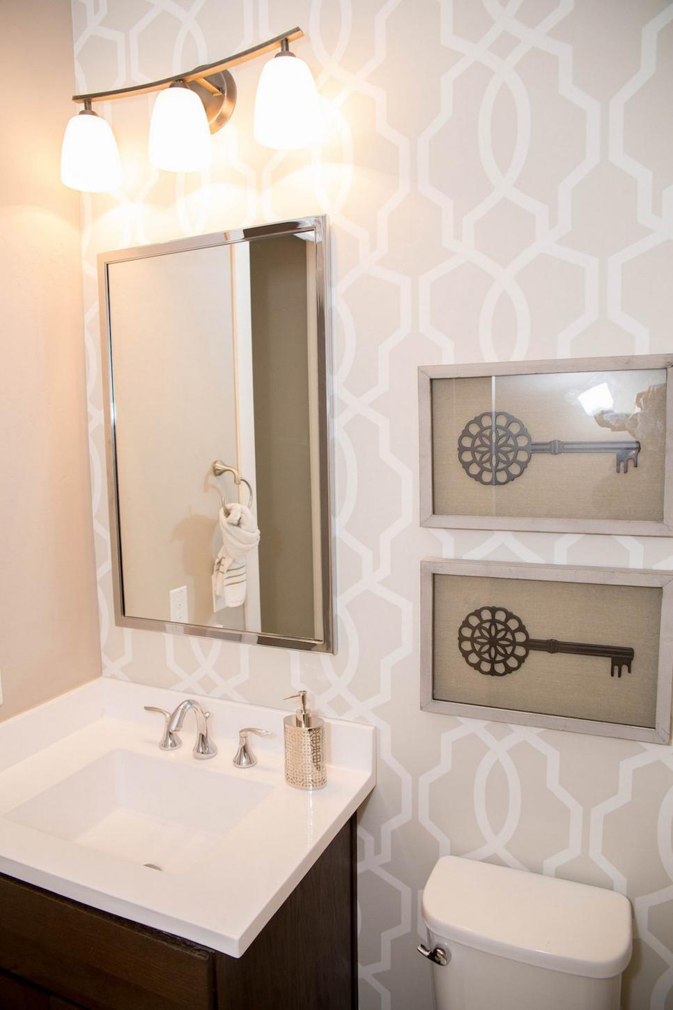 wallpaper ideas for small bathroom search viewer hgtv 26178