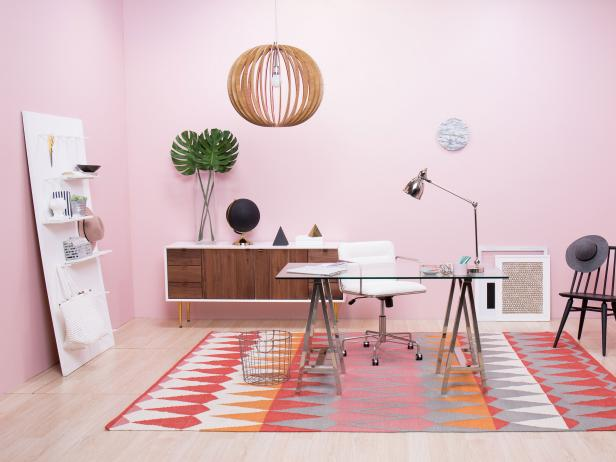 Tips For Creating A Glam Home Office Space Room