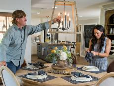Chip and Jo help a California couple, looking to settle in Waco, create a distinctive home with a creative cottage vibe.