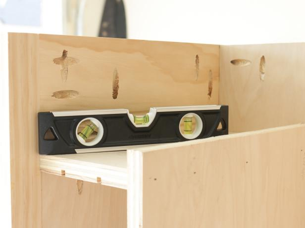 DIY Kitchen Island on Wheels: Build the Sheet Pan Storage Space