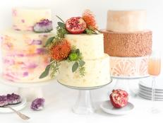 3 DIY Wedding Cake Decorating Ideas
