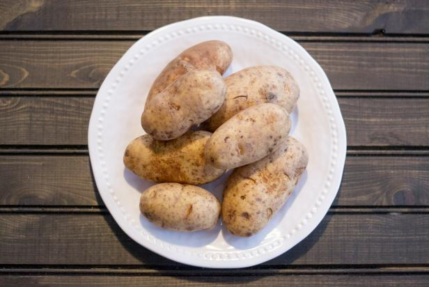 potatoes on a plate