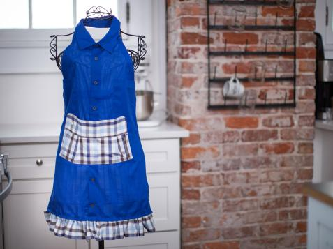 Turn a Shirt Into an Apron