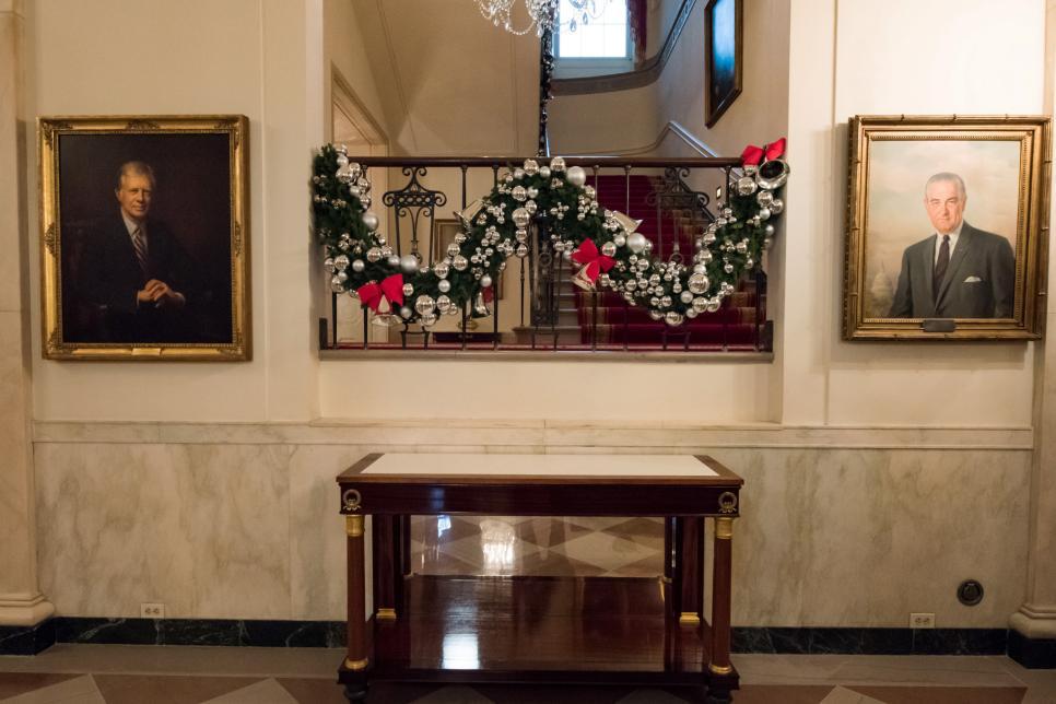 Grand Foyer White House : White house christmas tour part ii