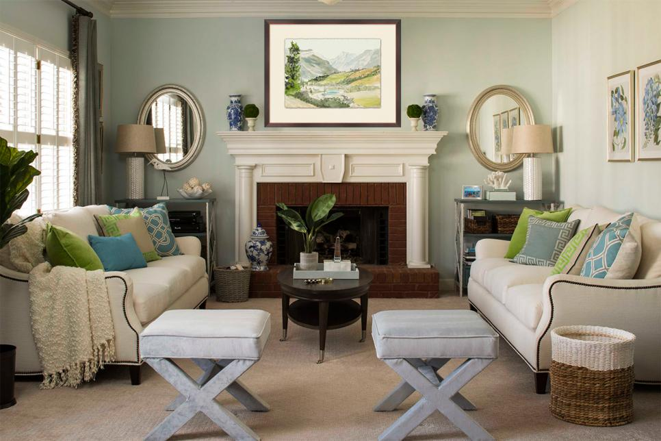 Sage green living room decorating ideas room image and Green room decorating ideas
