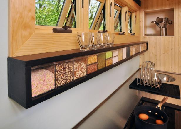 Food Storage Cubes in Tiny Toybox Home Kitchen