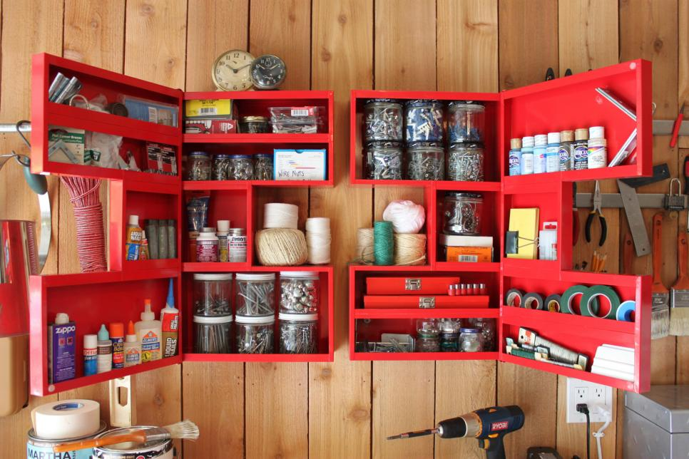 48 Genius Garage Organizing And Storage Ideas HGTV Extraordinary Organizing A Living Room Creative