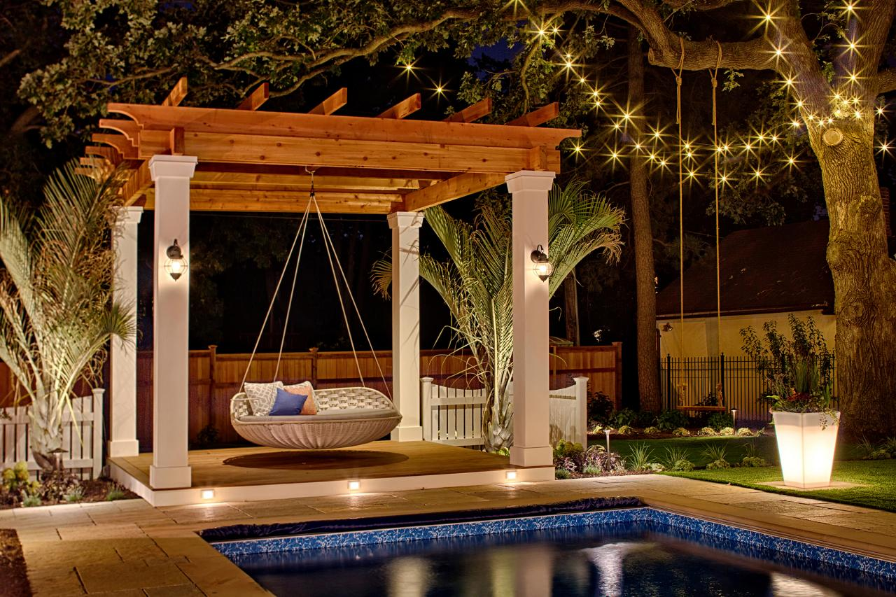 Dreamy Pergola Lighting Ideas Hgtv