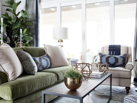 Living Room From HGTV Smart Home 2016