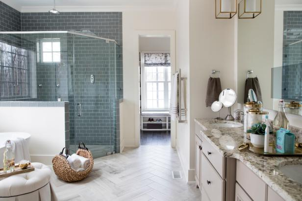 Pictures of the hgtv smart home 2016 master bathroom for Master bath remodel 2016