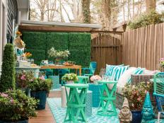 Spring-Inspired Outdoor Dining