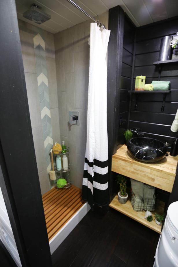 Spa Like Bathroom From Hgtv S Tiny Luxury Hgtv