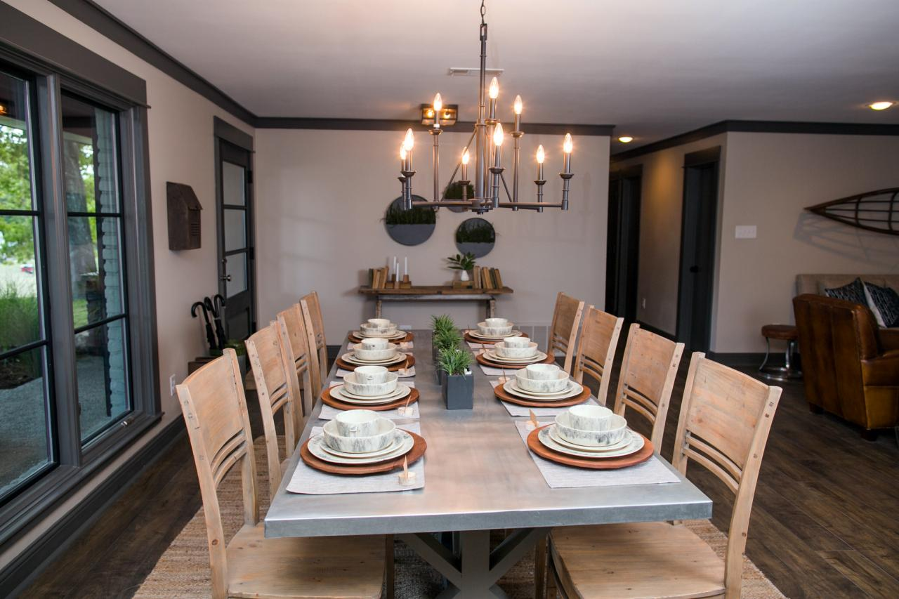 Renovated Open Concept Dining Room
