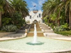 Grand Fountain at Luxury Auckland Estate