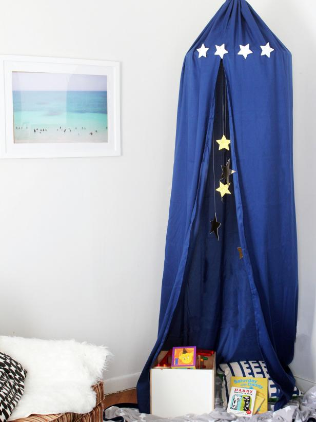 Dreamy DIY Kidu0027s Play Canopy : kids play canopy - memphite.com