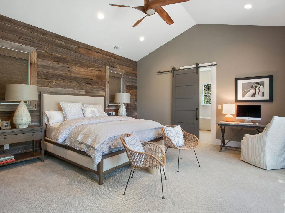 Rustic Meets Refined 40 Ways To Add Farmhouse Style HGTV Magnificent Contemporary Bedroom Colors Style
