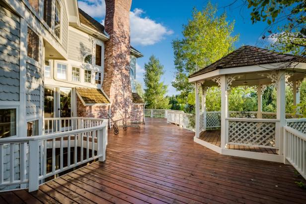 Large Deck and Gazebo
