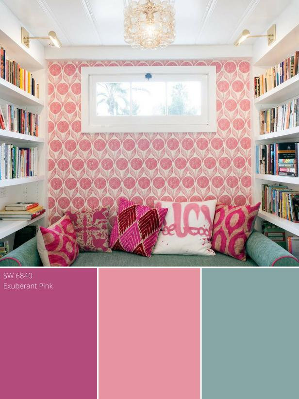 Raspberry Pink Color Palette - Raspberry Pink Color Schemes | HGTV