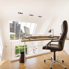 loft home office. Modern Home Office In Paris Apartment Loft A